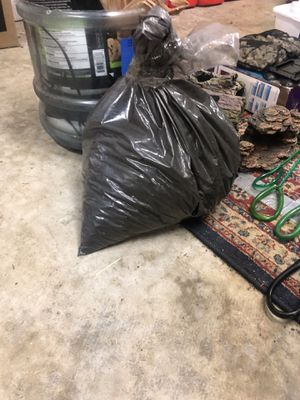 Activated aquarium charcoal 3 lbs approx for Sale in Seattle, WA