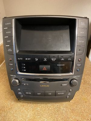 Radio/gps Lexus is250 10-12 for Sale in Orlando, FL