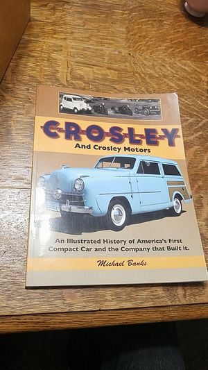 SIGNED Crosley Motors: An Illustrated History by Michael Banks for Sale in Cincinnati, OH