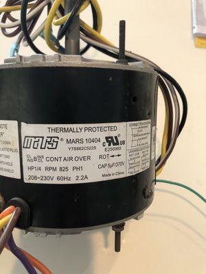 MARS Air Handler HP 1/4 Motor for Sale in Tampa, FL