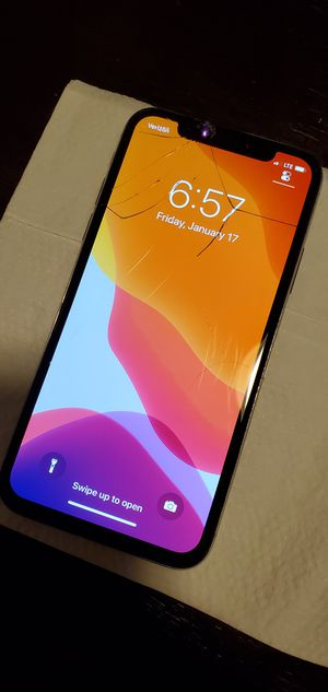 iPhone X -256gb- Sprint - Verizon for Sale in San Mateo, CA