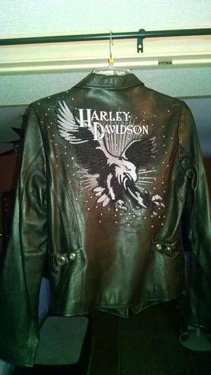 Harley Davidson Leather Motorcycle Jacket (S) for Sale in Phoenix, AZ
