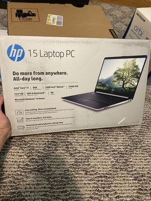 Laptops for sale HP, Lenovo, netgear orbi for Sale in Chicago, IL
