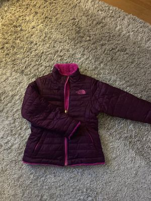 North Face reversible girls coat XXS (size 5) for Sale in Stoneham, MA