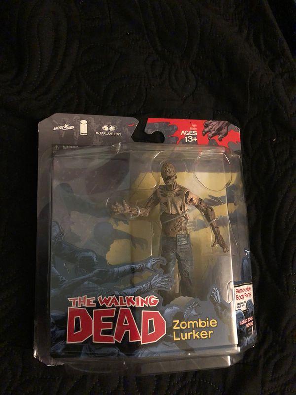 Zombie lurker action figure