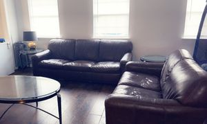 Sofa loveseat . 2 end tables and coffee table for Sale in Rockwall, TX