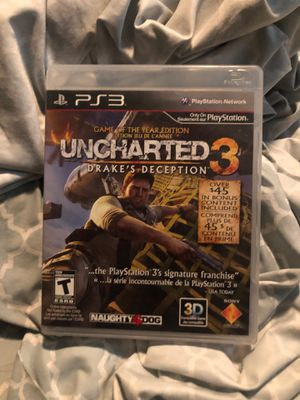 Uncharted 3 PS3 for Sale in North Las Vegas, NV