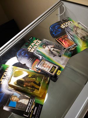 Stars wars figures (new) for Sale in Ontario, CA