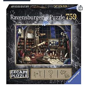 Ravensburger Space Observatory Escape Puzzle-awesome reviews! Like new! for Sale in Chandler, AZ