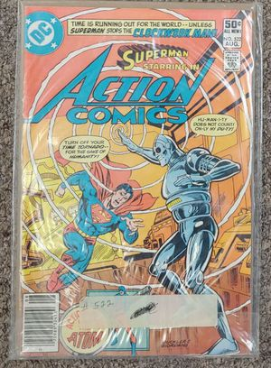 Superman Starring In Action Comics Issue #522 for Sale in Burlington, NC