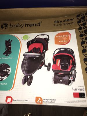 Used car seat and stroller set for Sale in Gibsonton, FL