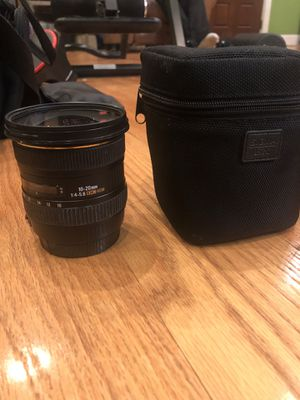 Sigma 10-20mm 4-5.6 for canon for Sale in Walnut Creek, CA