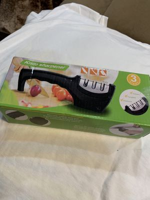 Knife Sharpener 3 New. Stage Ceramic, Tungsten and Diamond! for Sale in Los Alamitos, CA