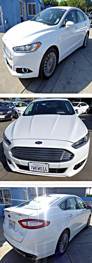 2015 Ford Fusion Titanium 89k for Sale in South Gate, CA