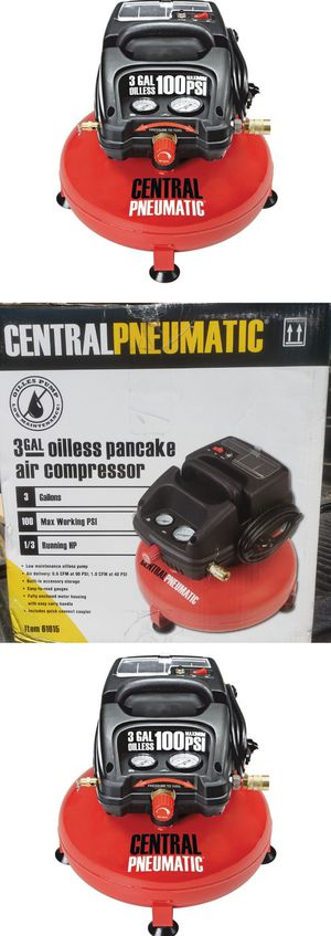 Brand New 3 Gallon 1/3 HP 100 PSI Oil-Free Pancake Air Compressor for Sale in City of Industry, CA