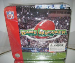 🏈Game Breaker NFL Trivia Challenge Game New in Package for Sale in Palatine, IL