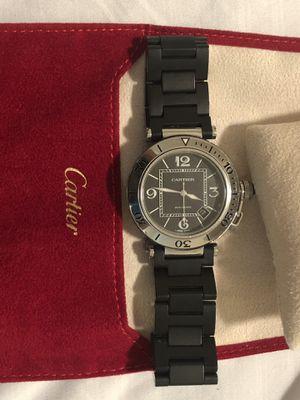 Gents Cartier watch pasha seatimer for Sale in Alexandria, VA