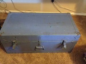 Blue chest for Sale in Maricopa, AZ