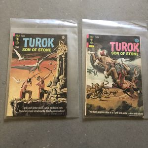 Gold key, Turok Son Of Stone comic books for Sale in Seattle, WA