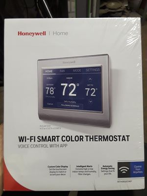 Honeywell Wi-Fi smart thermostat for Sale in Philadelphia, PA