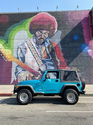 Jeep Wrangler TJ 4.0L 6 cyl automatic - rare color! Bright Jade for Sale in West Hollywood, CA