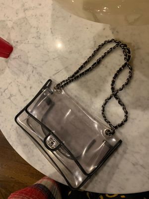 Rare CHANEL Karl Lagerfeld NAKED Clear PVC Bag for Sale in Chicago, IL