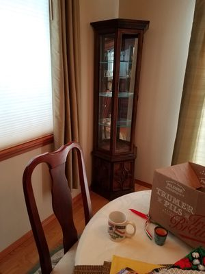 Lighted Curio Cabinet for Sale in Everett, WA