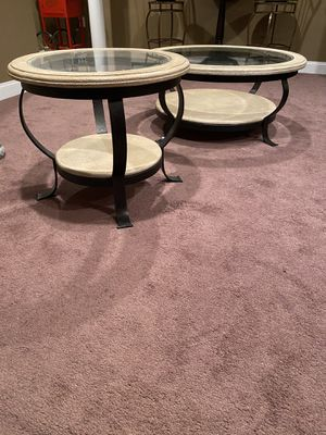 Coffe table end table for Sale in Bennsville, MD