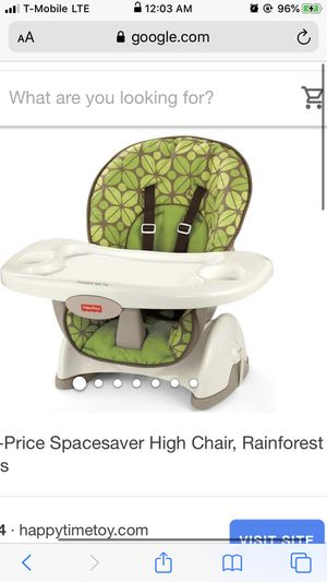 Fisher-Price Spacesaver High Chair for Sale in Lincoln Acres, CA