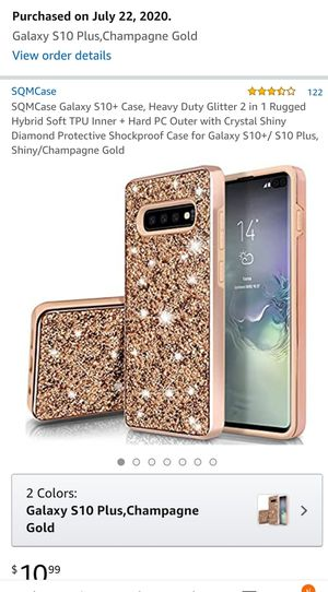 Samsung Galaxy S10 PLUS case for Sale in Seattle, WA