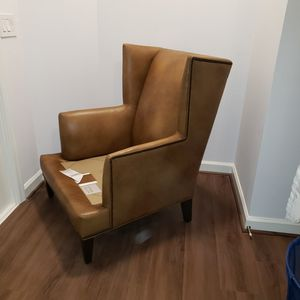 Ethan Allen Leather Chair for Sale in Rockville, MD