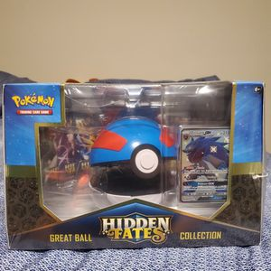 Pokemon Trading Cards Hidden Fates Greatball Premium Collection Box for Sale in Long Beach, CA
