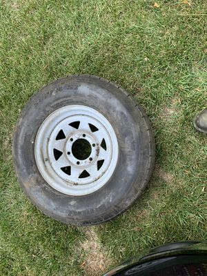 15 inch Trailer Tire Wheel for Sale in Midlothian, VA