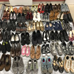 #3) Lot of 180 pairs of mixed summer shoes for Sale in Mount Rainier, MD