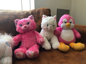 Build a bear 🐻 . Stuffed animal toys $12/each for Sale in Falls Church, VA