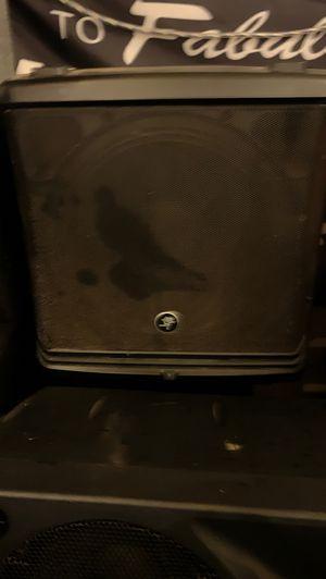 Mackie speaker amplify DLM12 for Sale in San Jose, CA