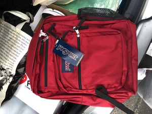 Jansport red backpack BRAND NEW !! for Sale in Upper Darby, PA