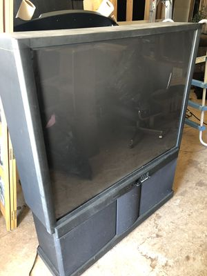 "50"" Hitachi Big Screen TV for Sale in Deckers, CO"