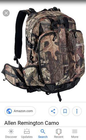 Remington camouflage hunting backpack w Gun Sling for Rifle Shotgun See pics for Sale in Fredericksburg, VA