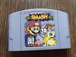 Super Smash Bros - Authentic Nintendo 64 game N64 for Sale in Miami Gardens, FL