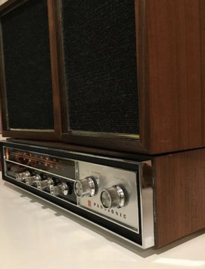 Vintage Panasonic Amp Stereo Receiver RE-7671 Ask For Video Demo for Sale in Chicago Ridge, IL