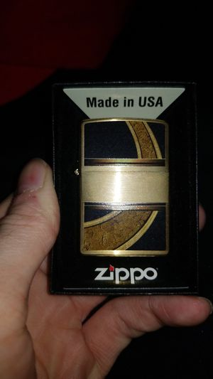 Black & Gold Zippo Lighter for Sale in San Carlos, CA