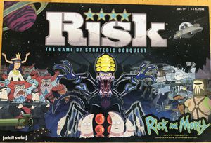 Rick and Morty Risk board game-Legendary Edition for Sale in Scottsdale, AZ
