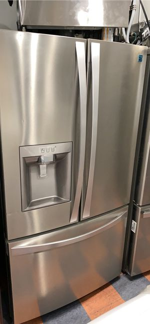 KENMORE FRENCH STYLE STAINLESS STEEL REFRIGERATOR for Sale in Costa Mesa, CA