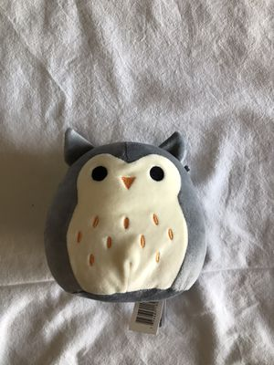 Grey Squishmallow owl for Sale in Laveen Village, AZ
