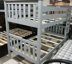NEW BEAUTIFUL BUNK BED TWIN OVER TWIN/MATTRESS SOLD SEPARATELY for Sale in Biscayne Park, FL
