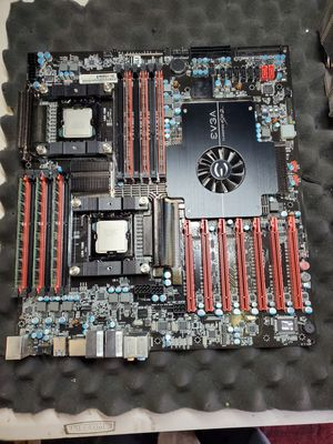Evga classified sr2 - e5620 X2 - 12gn DDR3 - 2 heatsinks for Sale in Los Angeles, CA