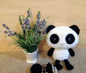 """Panda(15""""x10"""") doll & slipper for Sale in Bellevue, WA"""