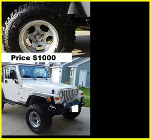 $1000 Jeep Wrangler for Sale in Columbus, OH