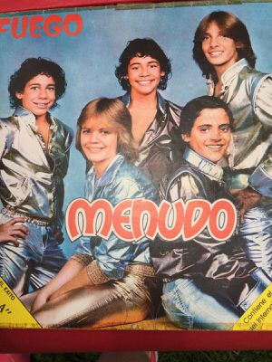 Cool Looking Vintage Vinyl Record Album of Menudo group for Sale in Chicago, IL